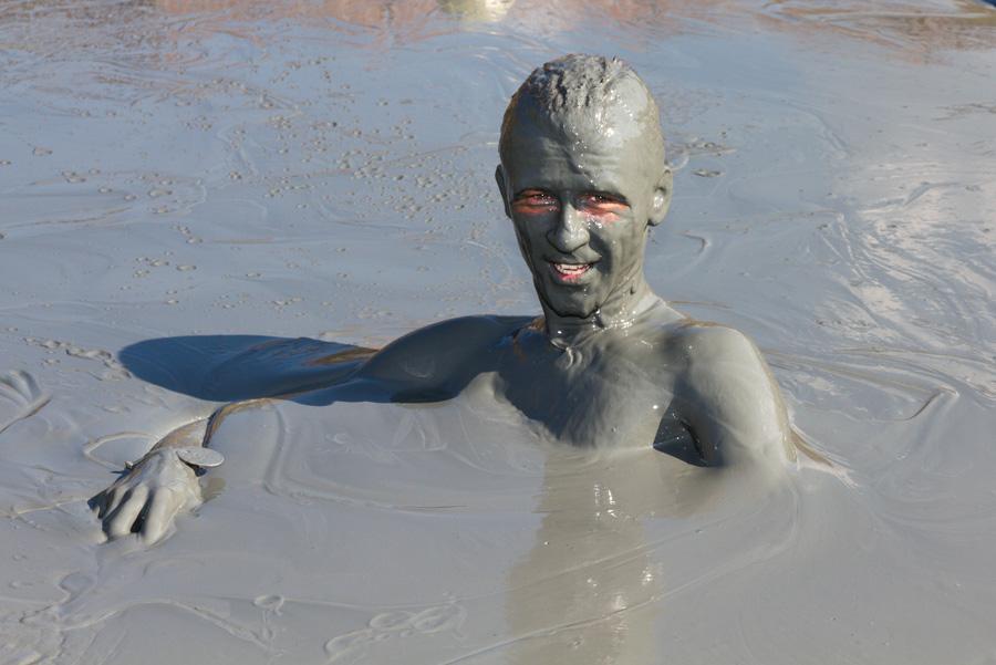 грязевой  вулкан Синяя Балка